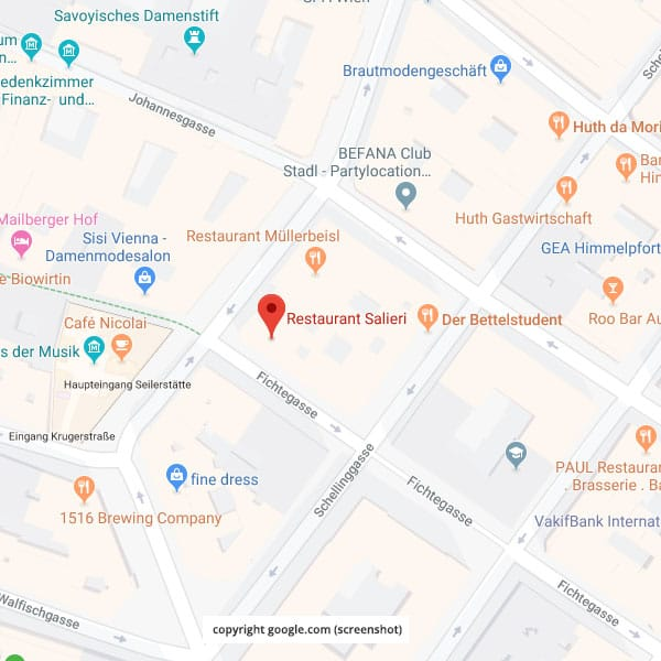 Anfahrtsplan Grafik -c- Google map